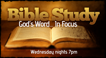 Bible Study Wednesdays 7 pm Topic: Unity In Building The Church! Nehemiah 4:6
