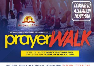 Prayer Walk!