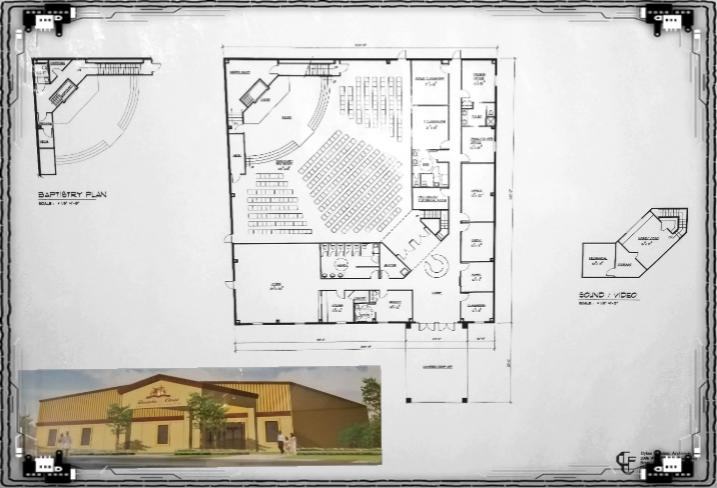 The New Church Floor Plans!